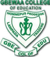 Principal for Gbewaa College of Education